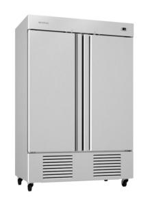 Congelador 2 puertas inox 1350 l.