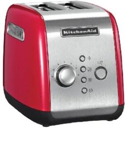 Tostadora Kitchenaid roja 2 rebanadas -MT19000