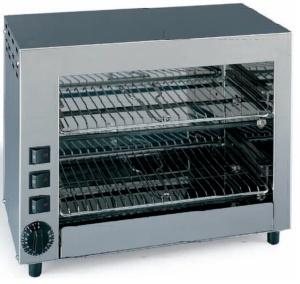 Hornillo Grill Inox 2 Niveles-MT14050