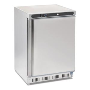 Nevera frigorífica bajo mostrador Inox 150 l.