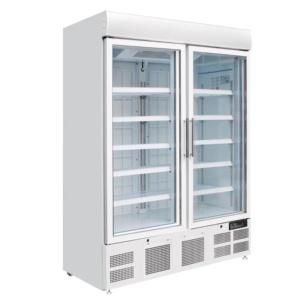 Vitrina congelador Vertical 2 Puertas Cristal