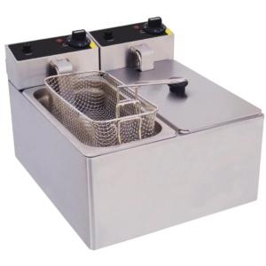 Freidora doble eléctrica 3 litros - NIP107