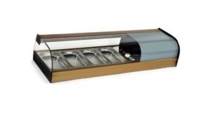 Vitrina frigorífica horizontal 4 cubetas