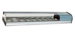 Vitrina frigorífica horizontal 8 cubetas