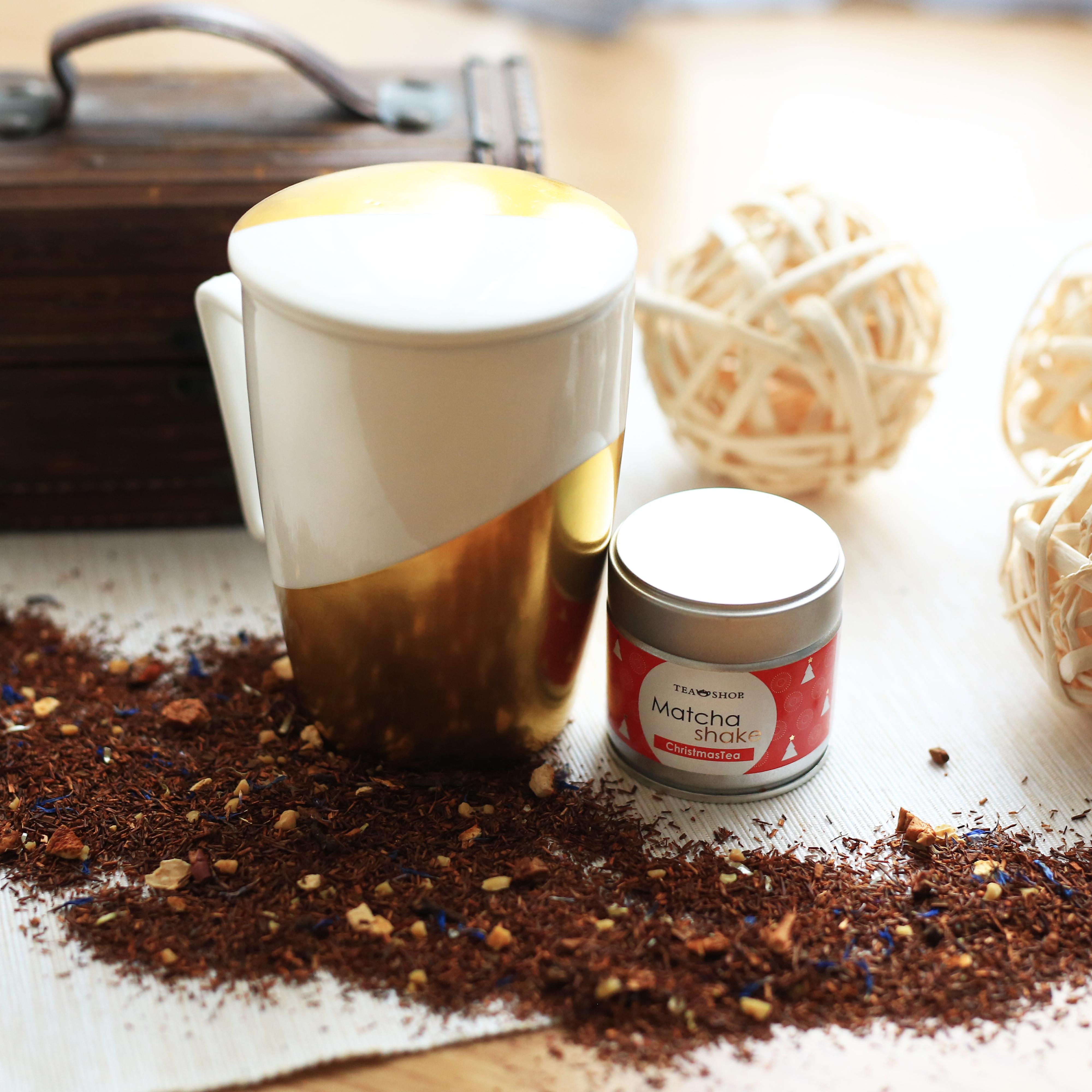 Mug Super Jumbo Golden .,Tazas de porcelanaTea Shop® - Ítem3