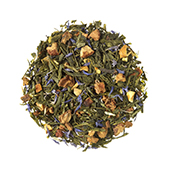 Green Christmas Tea_ Green tea. Loose teas. Teas, rooibos teas and herbal teas, Antioxidant, Diabetics, People with Coeliac Disease, People Intolerant to Nuts, People Intolerant to Lactose, People Intolerant to Soya and Soya Products, Vegetarians, Children, Pregnant Women, Citrus, Spiced,Tea Shop®