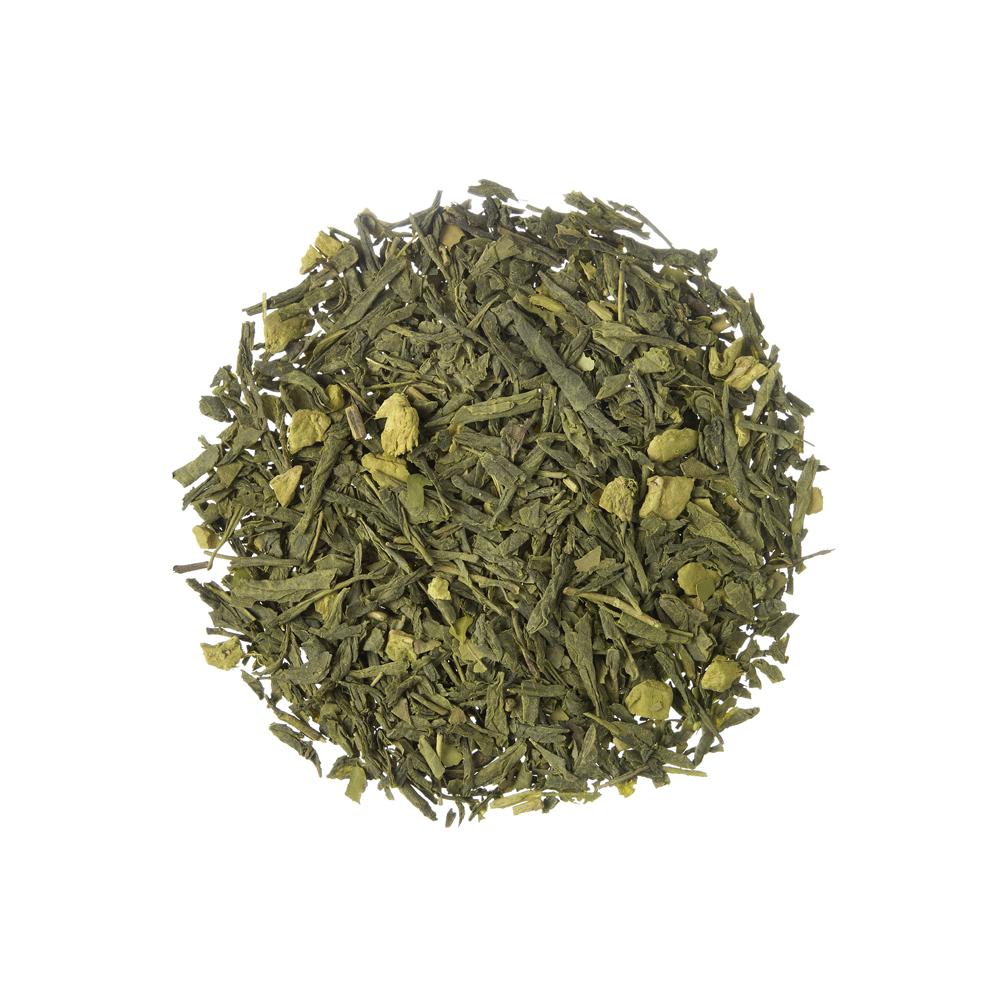Ushuaia Ginger Citrus. Loose teas. Teas, rooibos teas and herbal teas, Antioxidant, Japan, Diabetics, People with Coeliac Disease, People Intolerant to Nuts, People Intolerant to Lactose, People Intolerant to Soya and Soya Products, Vegetarians,