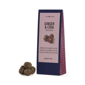 Ginger and Chia Chocolates. Tea Shop