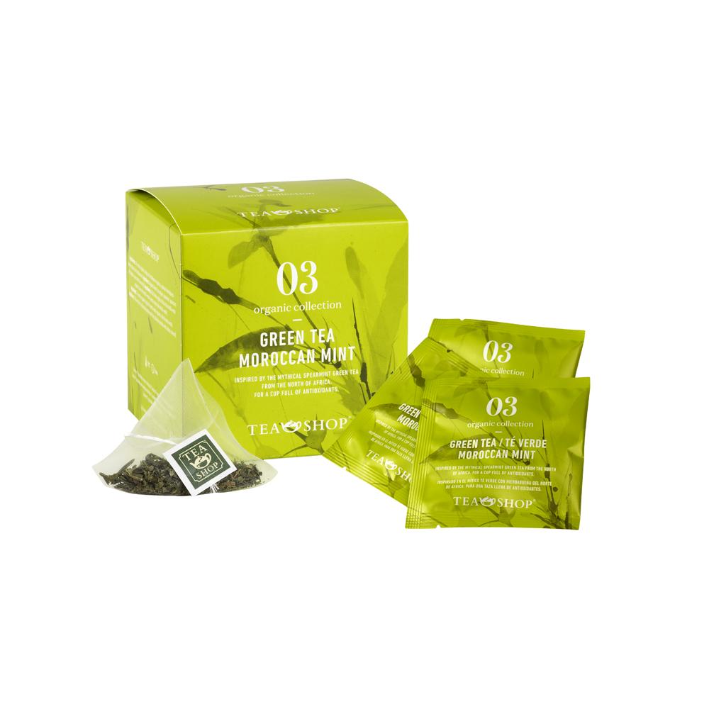 Té Verde Moroccan Mint.Tea Collections,Organic collectionTea Shop®