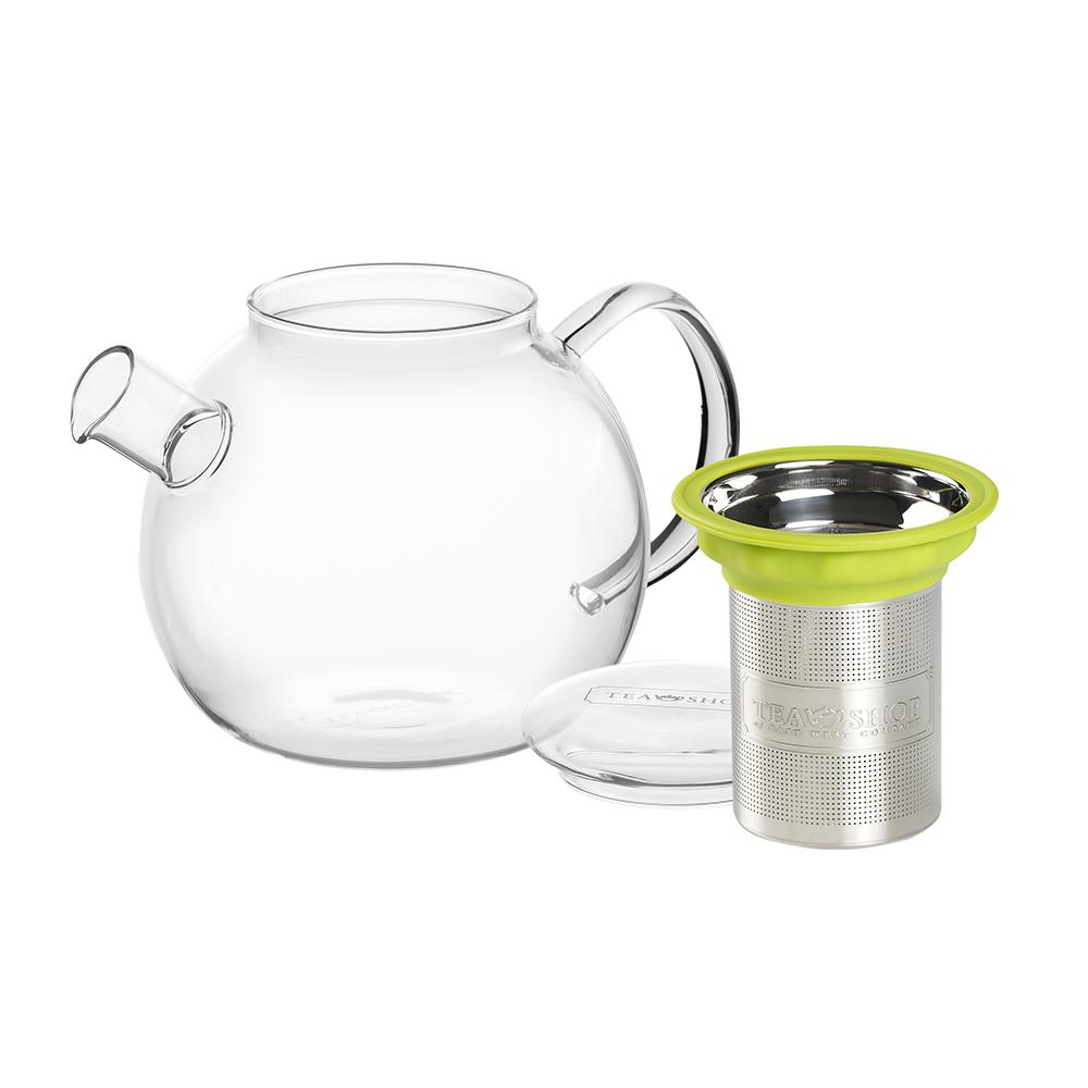 Tetera de Cristal All In One Teapot Blue 1L - Tea Shop - Ítem1