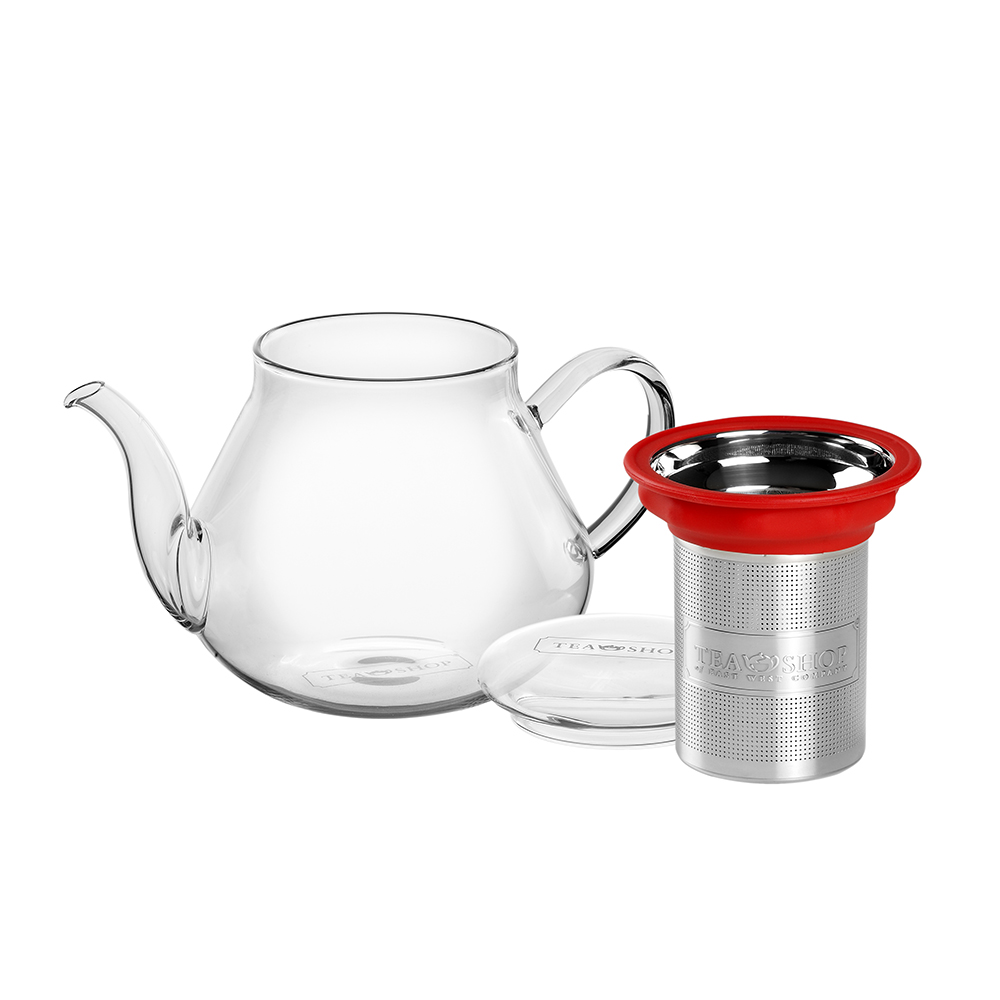 All in One Teapot Pretty 0.5l. Glass teapots Tea Shop® - Item1