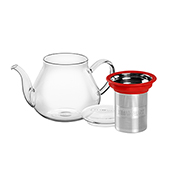 All in One Teapot Red 0.5L