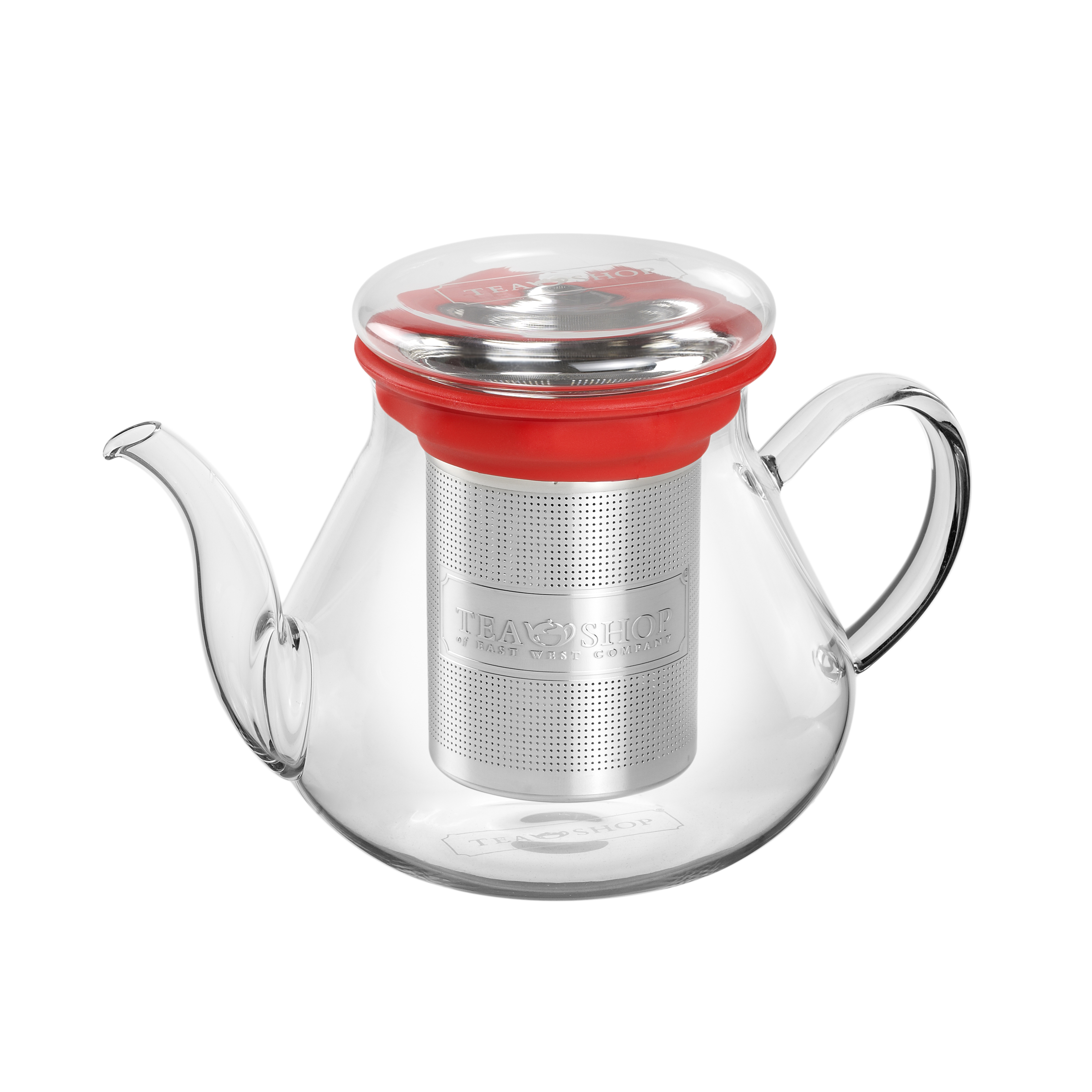 All In One Teapot Red 0 5l Tea Shop