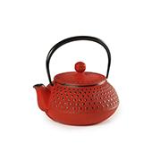 Tetera Kabuki Roja 0.6l. Teiere. Teiere in ferroTea Shop®