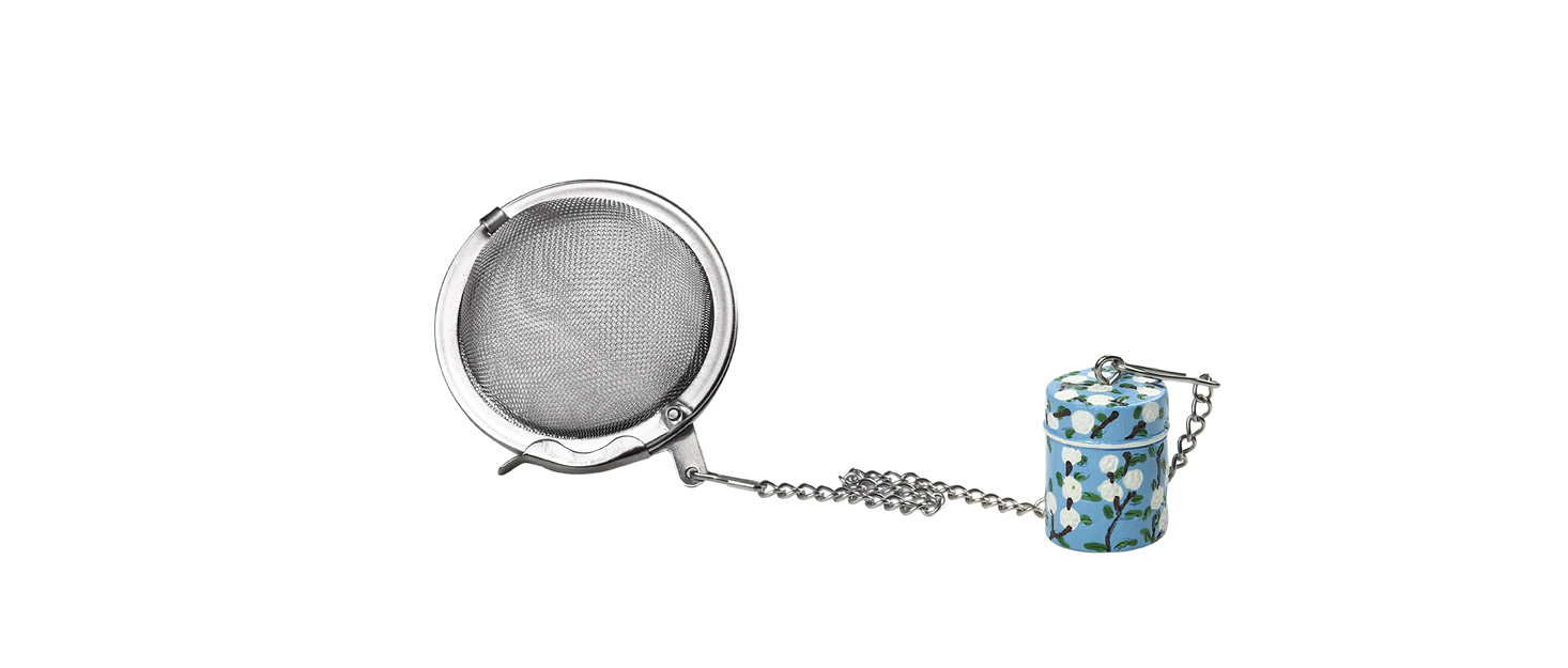 Tea Party Tin Infuser