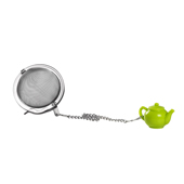 Silicone Green Teapot & Cup Infuser. . . Tea Shop®