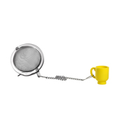 Silicone Yellow Mug Infuser