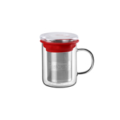 All In One Mug Red.. . Tasses de vidreTea Shop® - Ítem1