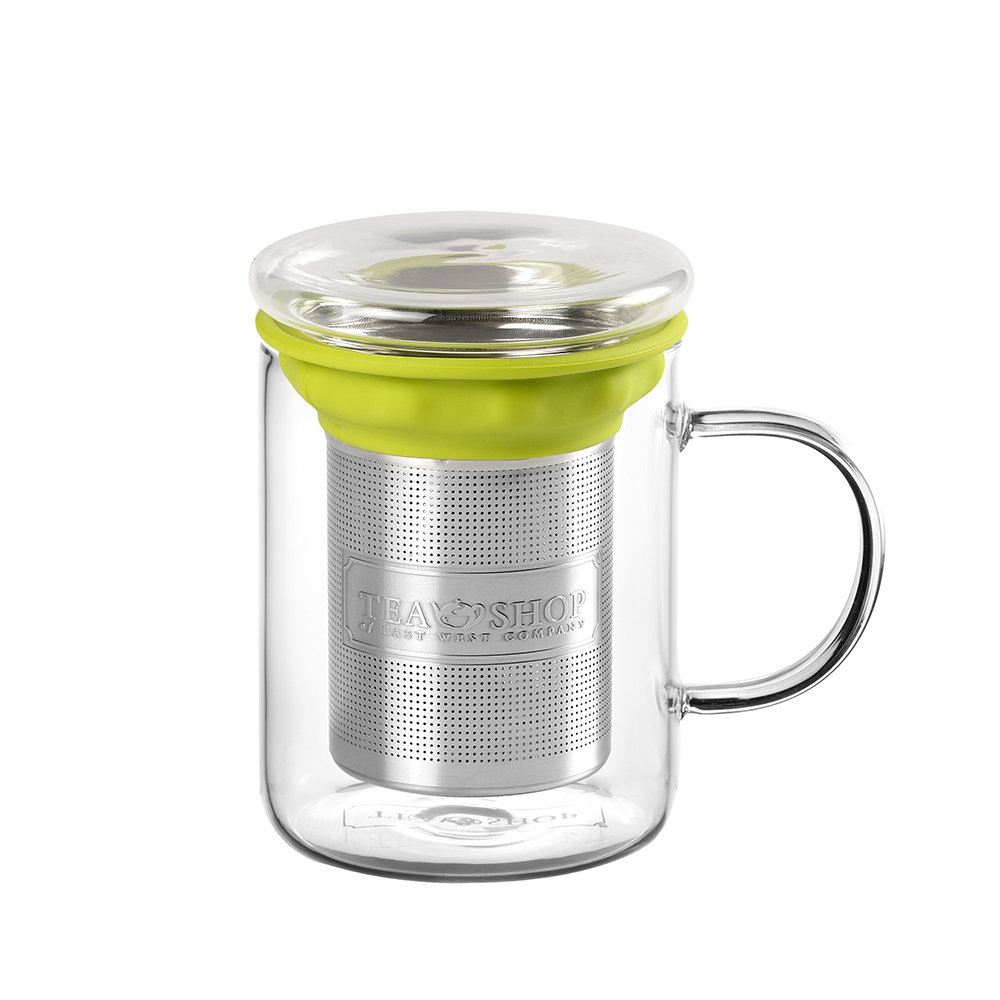 All In One Mug Green.. . Canecas em vidroTea Shop® - Item1