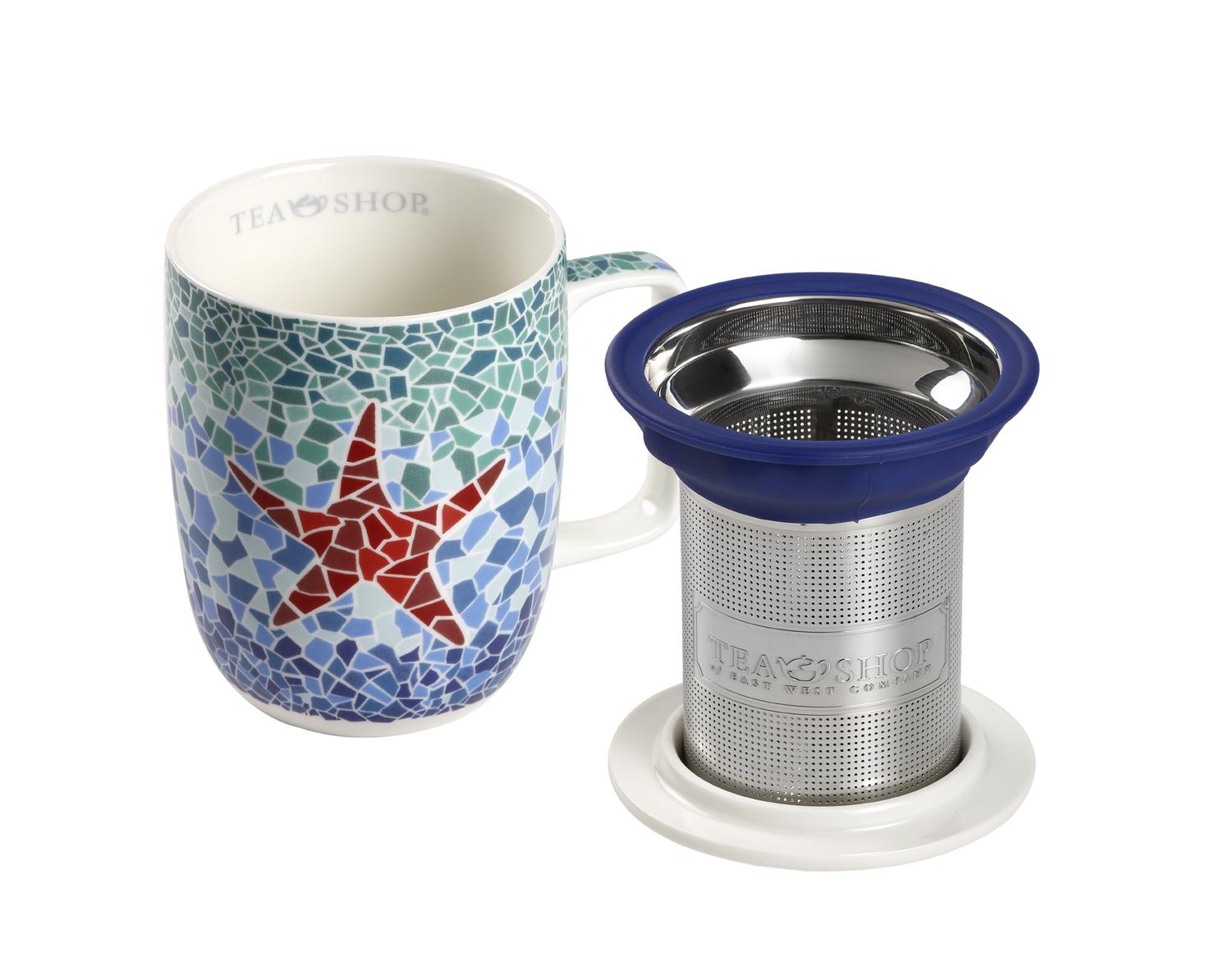 Mug Harmony Estrella. Canecas em porcelanaTea Shop® - Item2