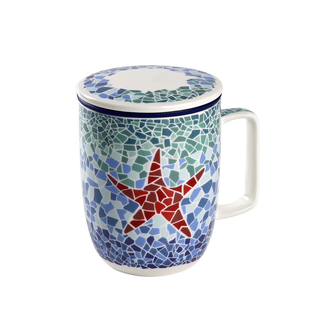 Mug Harmony Estrella. Tasses de porcellanaTea Shop®