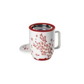 Mug Harmony Sakura Red. . . Porcelain MugsTea Shop®