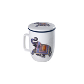 Mug Harmony India. Tazas de porcelana Tea Shop®