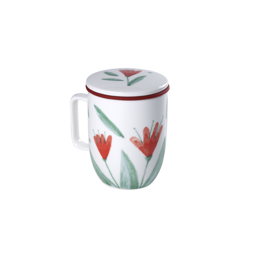 Mug Harmony Flowery. Tazze in porcellana Tea Shop®
