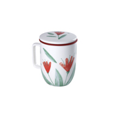 Mug Harmony Flowery. Porcelain Mugs Tea Shop®