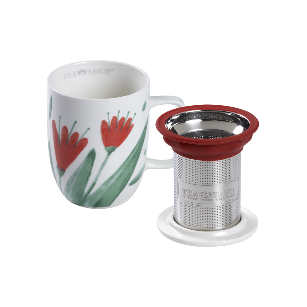 Mug Harmony Flowery. Tazze in porcellana Tea Shop® - Item2