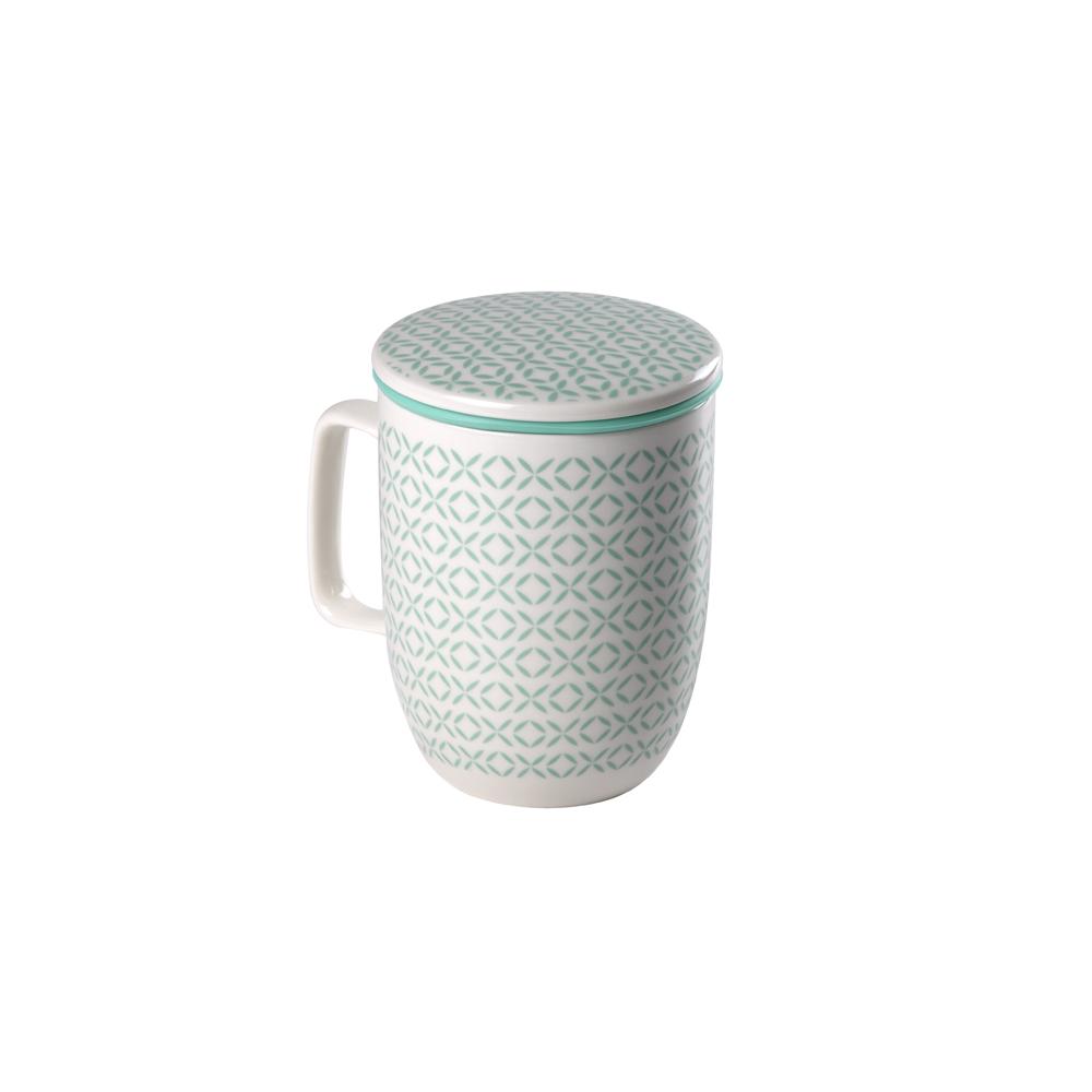 Mug Harmony Creta. Tasses de porcellana Tea Shop®