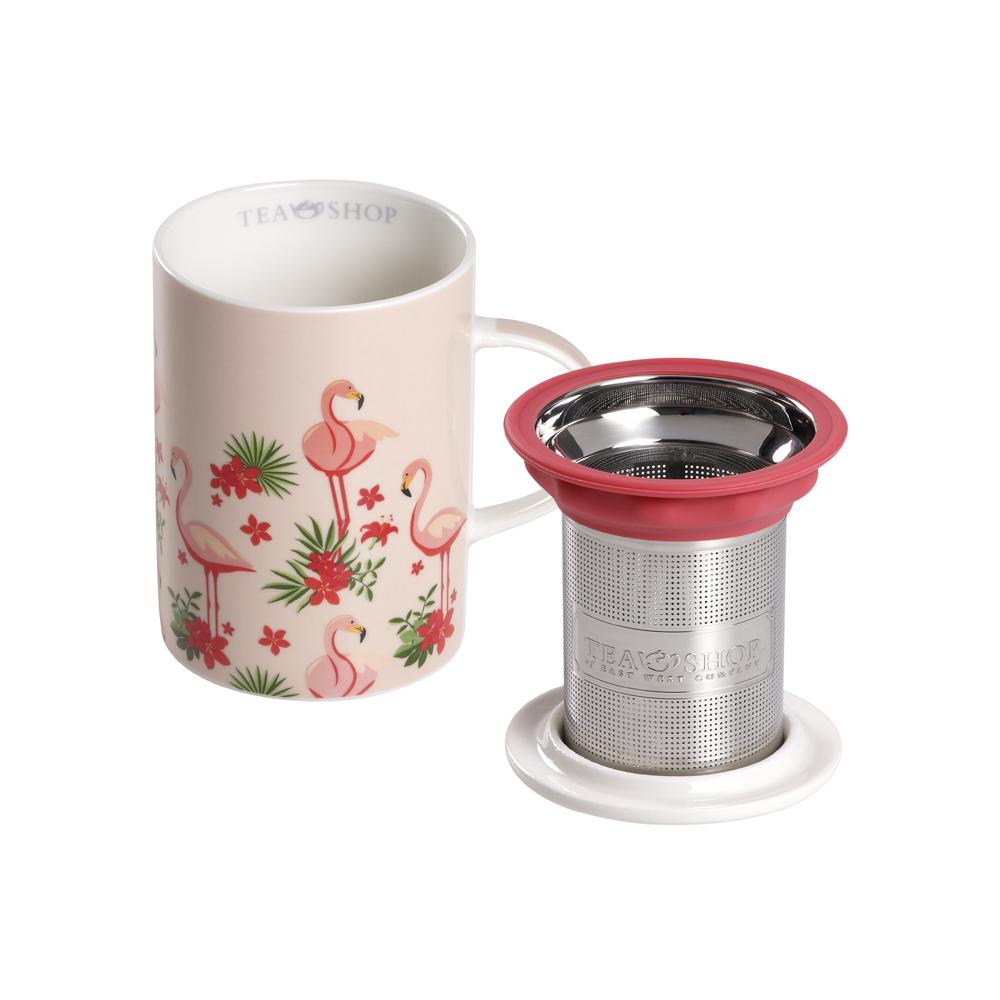 Mug Classic Flamingo. Tazas de porcelana Tea Shop® - Ítem1