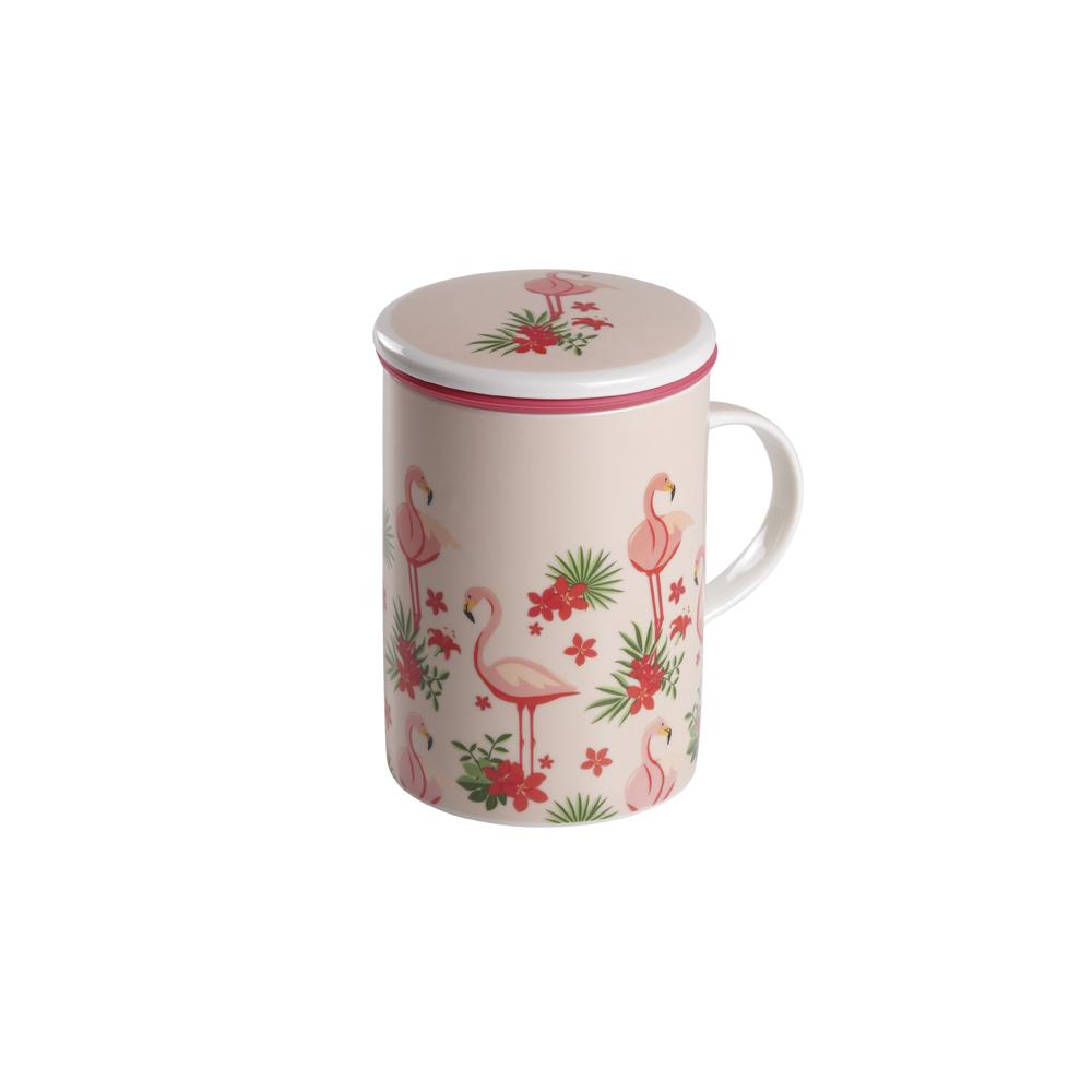 Mug Classic Flamingo. Tazas de porcelana Tea Shop®