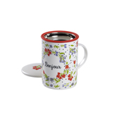 Mug Classic Bonjour. Tazas de porcelana Tea Shop® - Ítem1