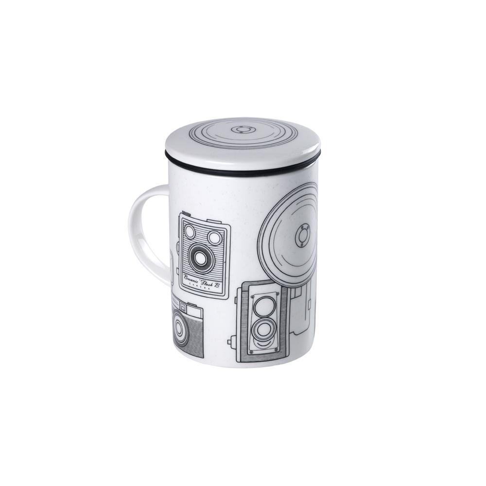Mug Classic White Brunch. Tazas de porcelna