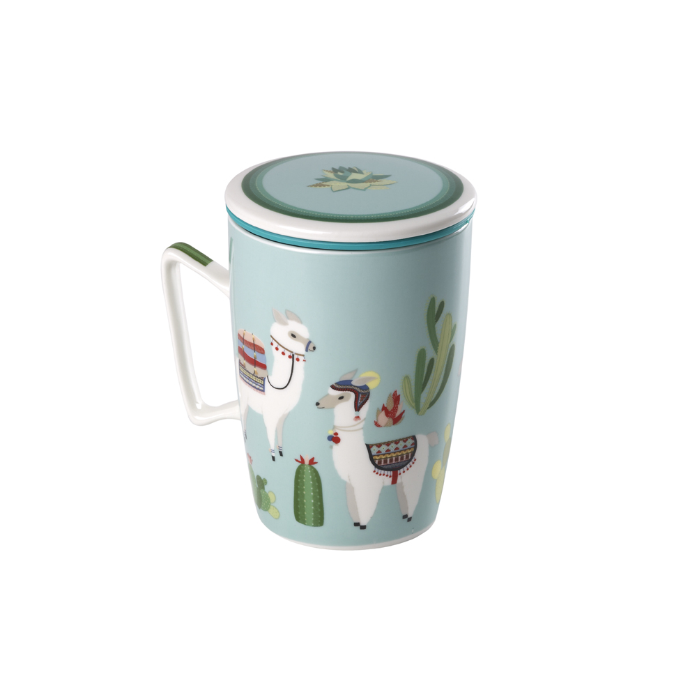 Mug Super Jumbo Llama. Tazze in porcellana