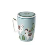 Mug Super Jumbo Llama. Porcelain Mugs
