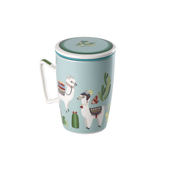 Mug Super Jumbo Llama. Tasses de porcellana
