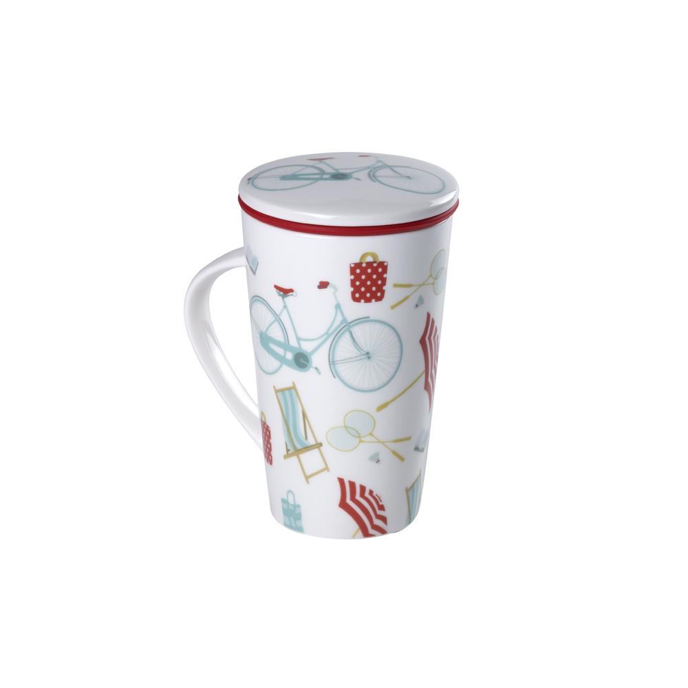 Mug Smart Sicilia. Tazas de porcelana Tea Shop®