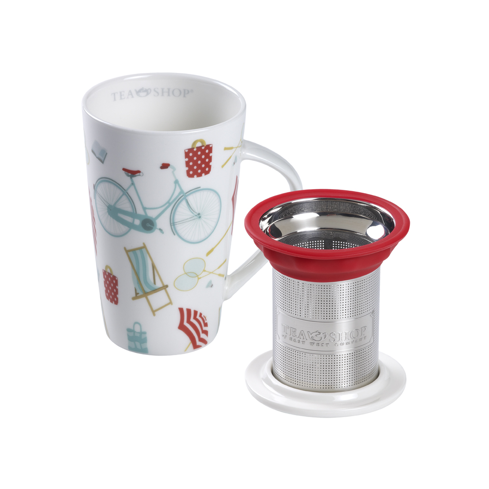 Mug Smart Sicilia. Tazas de porcelana Tea Shop® - Ítem2
