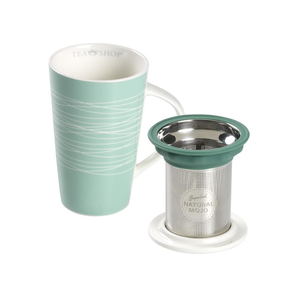 Mug Smart Maldivas. Tazas de porcelana Tea Shop® - Item2