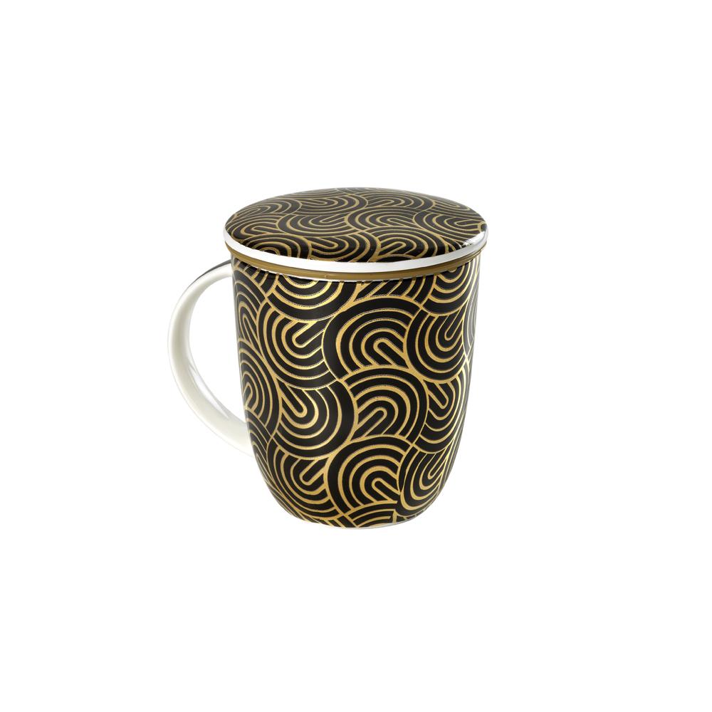 Mug Kalpana Japan Gold. Tazas de porcelana Tea Shop®