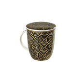 Mug Kalpana Japan Gold. Porcelain Mugs Tea Shop®