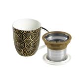 Mug Kalpana Japan Gold. Tazas de porcelana Tea Shop® - Ítem2