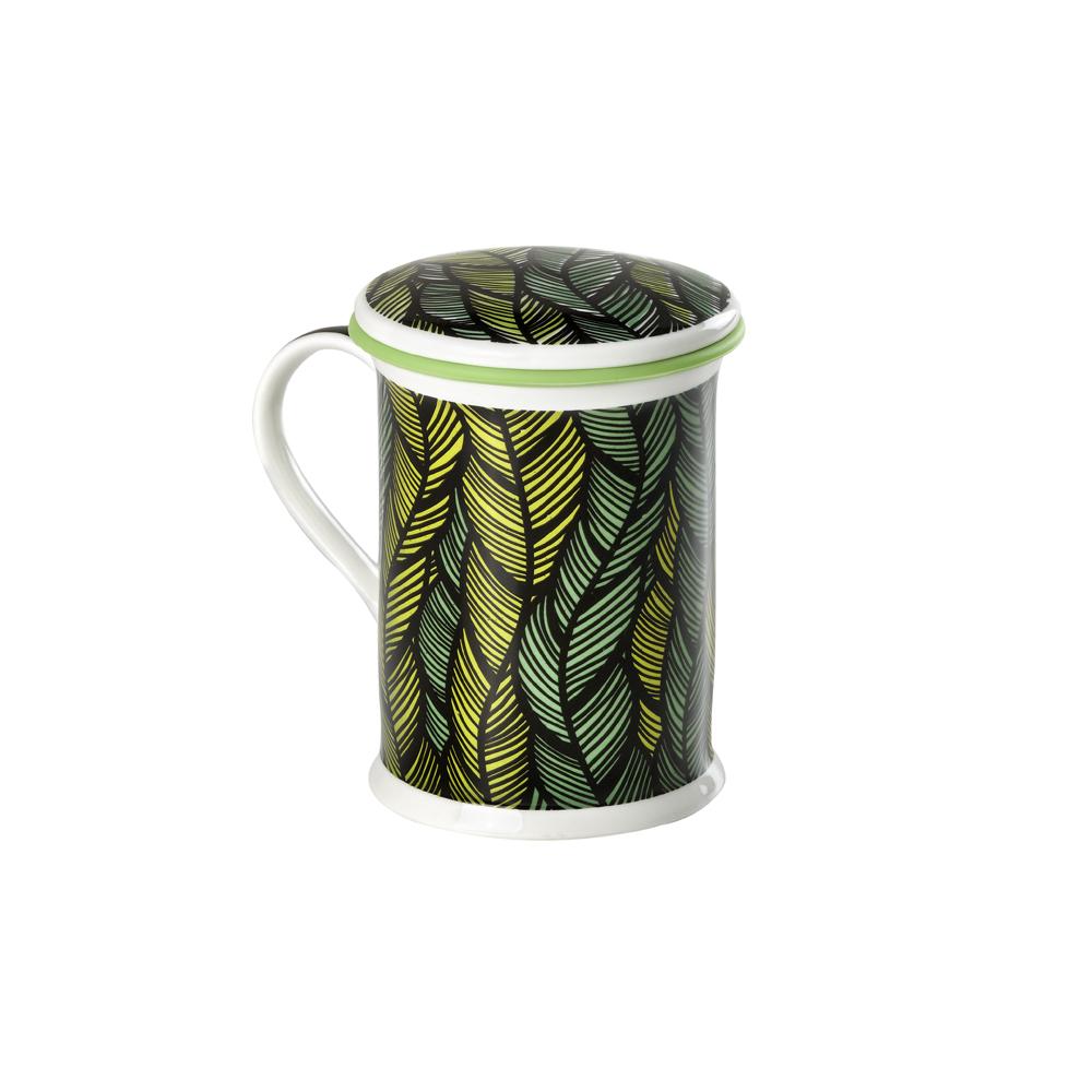 Mug Benazir Mali Green. Tazas de porcelana Tea Shop®