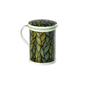 Mug Benazir Mali Green. Tazas de porcelana Tea Shop®