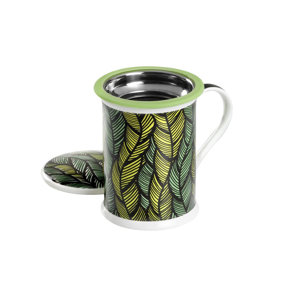 Mug Benazir Mali Green. Tazas de porcelana Tea Shop® - Ítem1