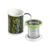 Mug Benazir Mali Green. Tazas de porcelana Tea Shop® - Ítem2