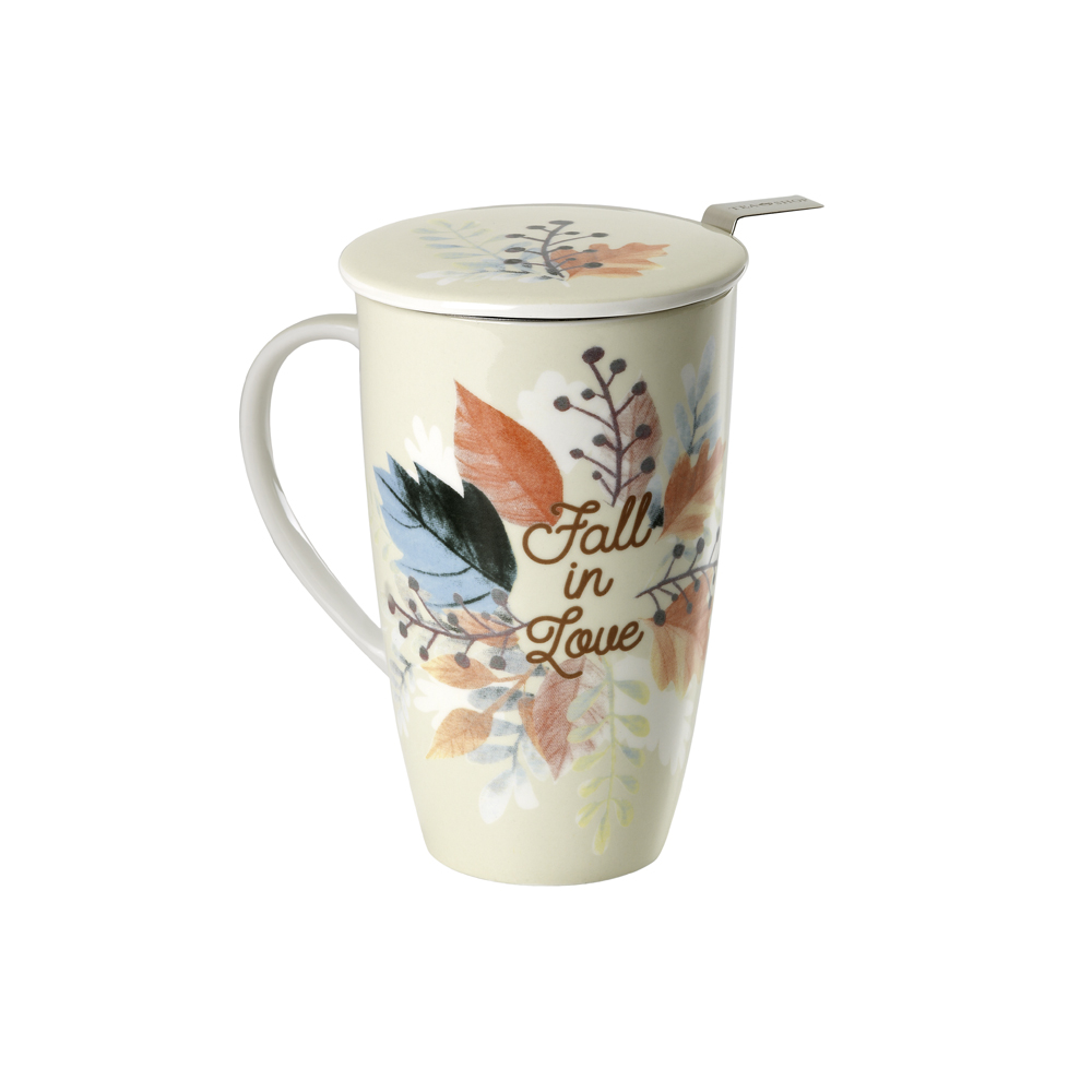 Mug Emmeline Fall in Love. Tazas de porcelana Tea Shop®