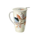 Mug Emmeline Fall in Love. Tazas de porcelana Tea Shop® - Ítem